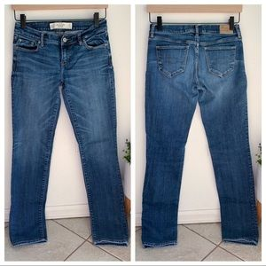 Abercrombie and Fitch skinny jeans medium wash